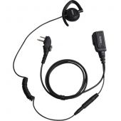 Hytera Earpiece with adjustable and Inline-MIC PTT